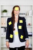 Caucasian businesswoman — Stock Photo