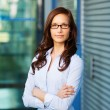 Stock Photo: Portrait of beautiful confident female executive