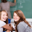 Cheerful students — Stockfoto #26709615