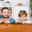 Young Couple With Bag — Stock Photo #26744213