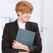 Businesswoman Looking For A New Job — Stock Photo