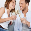 Dating couple — Lizenzfreies Foto