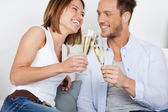 Dating couple — Stock Photo