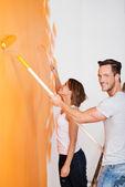 Pared de pintura — Foto de Stock