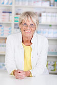 Portrait of a pharmacist — Stock Photo