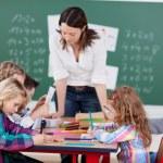 děti ve škole — Stock fotografie