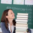 Stock Photo: Cheerful teacher