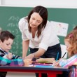 Explaining teacher — Stock Photo #27049095