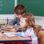 Busy schoolchildren — Stock Photo #27049157