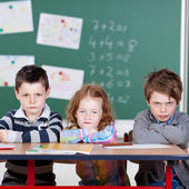 Annoyed children — Stock Photo