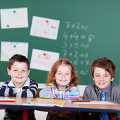 Three children — Stockfoto