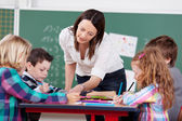 Explaining teacher — Stock Photo