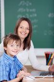 Teaching student — Stock Photo