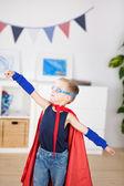 Adorable superhero — Stock Photo