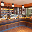 Stock Photo: Modern bakery interior