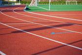 Empty Race Track — Stock Photo