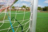 Soccer Goal — Stock Photo