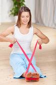 Aerobic exercise — Stock Photo