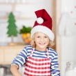Baking cookies during Advent — Stock Photo