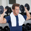 Muscular man — Stock Photo