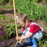 Little gardener — Stock Photo #27210621