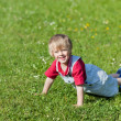 Having fun on lawn — Stock Photo #27210777