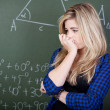 Student in thoughts — Stock Photo #27314157