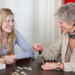 Grandmother And Granddaughter Having Fun — Stock Photo #27361611