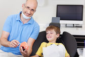 Dentalcare lesson — Stock Photo