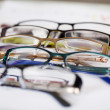 Glasses Displayed On Paper — 图库照片