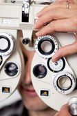 Eyesight measurement — Stock Photo