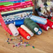 Stock Photo: Needlework and handicraft