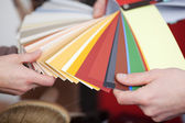New paint colours — Stock Photo