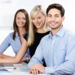 Stock Photo: Confident competent business team