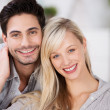 Loving attractive young couple — Foto de Stock