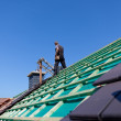Detail of the construction of a new roof — Stock Photo #28282155