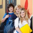 Group of young teenage students — Stock Photo #28815213
