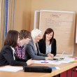 Working group — Stock Photo