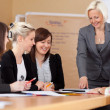 Stock Photo: Women in a business meeting