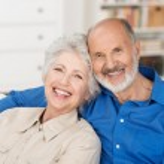 Romantisches altes Paar — Stockfoto