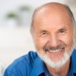 Portrait of a smiling attractive senior man — Stock Photo #30761235