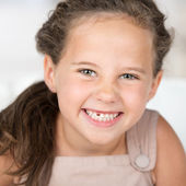 Adorable beautiful little girl — Stock Photo