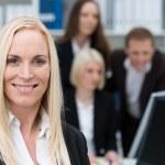 Successful confident businesswoman — Stock Photo #31018877