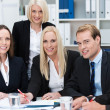 Stock Photo: Happy successful business team