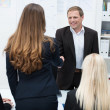 Business people shaking hands — Stock Photo #31019241