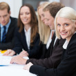 Beautiful smiling blond business woman — Stock Photo #31019251