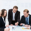 Stock Photo: Business team in a meeting