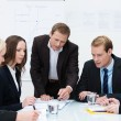 Stock Photo: Business team in meeting