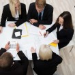 Colleagues in a business meeting — Stock Photo