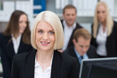 Successful businesswoman — Stock Photo